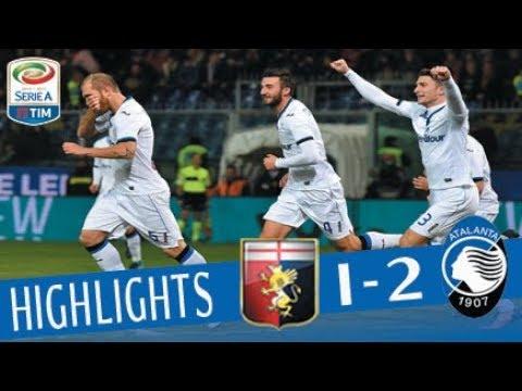 Genoa - Atalanta 1-2 - Highlights - Giornata 16 - Serie A TIM 2017/18
