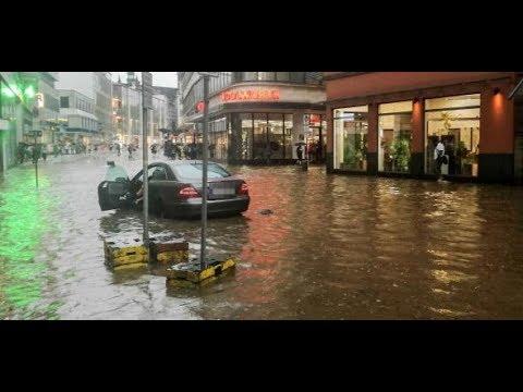 STARKREGEN IN NRW: Erhebliche Schäden in Wuppertal und  ...