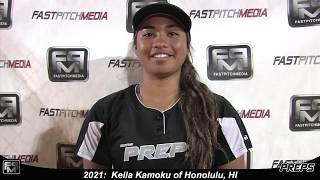 Committed to U of Minnesota 2021 Keila Kamoku Athletic Shortstop Softball Skills Video -Easton Preps