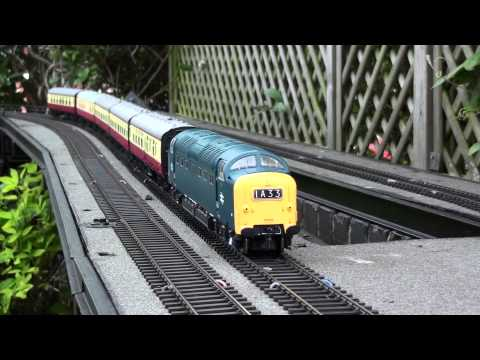 Heljan 7mm Deltic custom DCC sound - signal check