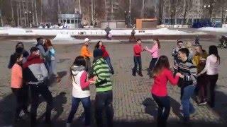 Izhevsk Russia  city photo : International Rueda Flashmob IZHEVSK, Russia, April 2, 2016