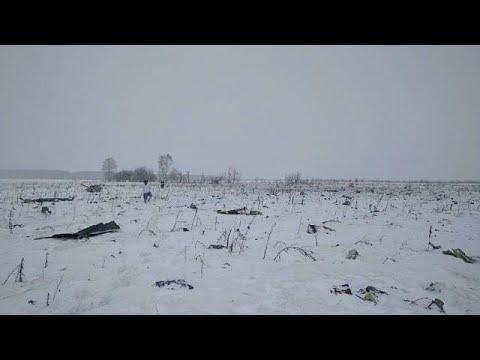 Ρωσία: Συντριβή αεροπλάνου στη Μόσχα