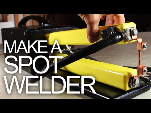make - Here is a step-by-step tutorial on how to make an 800 amp Spot Welder from common materials and for dirt cheap! Spot welders are used to fuse thin sheets of ...