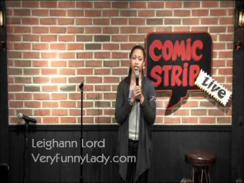 Leighann Lord Having 4th of July Laughs with UK Audience