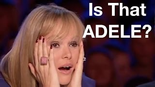Best of ADELE COVER on Got Talent and X Factor