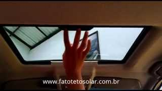 Vectra com Teto Solar Webasto Hollandia 300NSG com nova forração