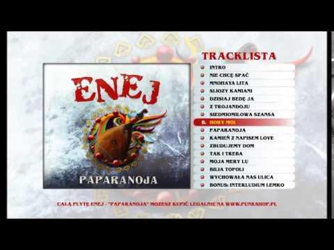 Tekst piosenki Enej - Hory Moi po polsku