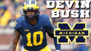 BEST Linebacker in the Big 10    Devin Bush Michigan Highlights
