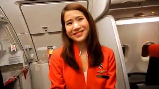 Video Flying Air Asia Bangkok (DMK) to Phuket (HKT) April 2017 MP3, 3GP, MP4, WEBM, AVI, FLV Juli 2018
