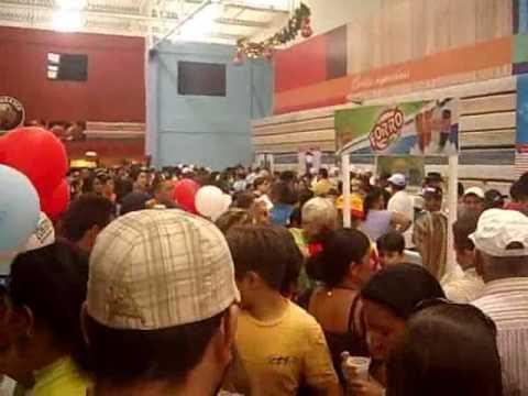 Supermercados Queiroz - Inauguração - Final - Apodi/RN - 17/12/2009 - TV OESTE