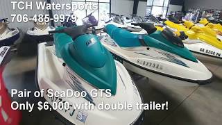 2. Twin SeaDoo Spring Deal!