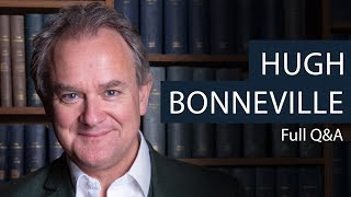 Hugh Bonneville Q&A at Oxford Union