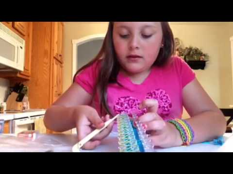 Rubber Bandz Rainbow Loom – How to!
