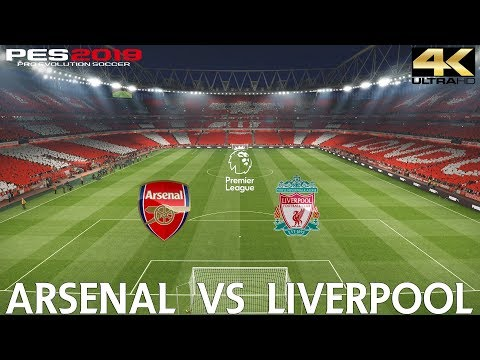 PES 2019 (PC) Arsenal Vs Liverpool | PREMIER LEAGUE MATCH PREVIEW | 3/11/2018| 4K 60FPS