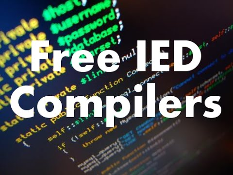 Free ide Popular c compilers