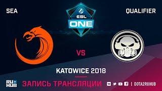 TNC vs Execration, ESL One Katowice SEA, game 1 [Mila, LighTofHeaveN]