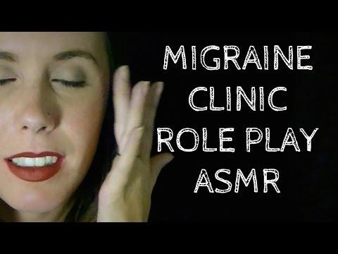 ASMR Migraine Clinic: Binaural Role Play for Headache and Nausea