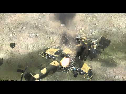 Me shooting down several Mi-24...