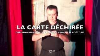 CARTE DÉCHIRÉE