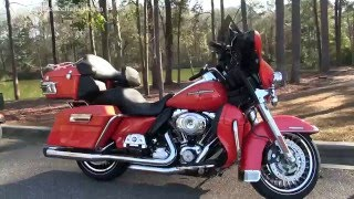9. 2012 Harley Davidson Ultra Limited Tequila Sunrise for sale
