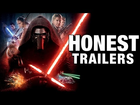 Honest Trailer Of Star Wars The Force Awakens