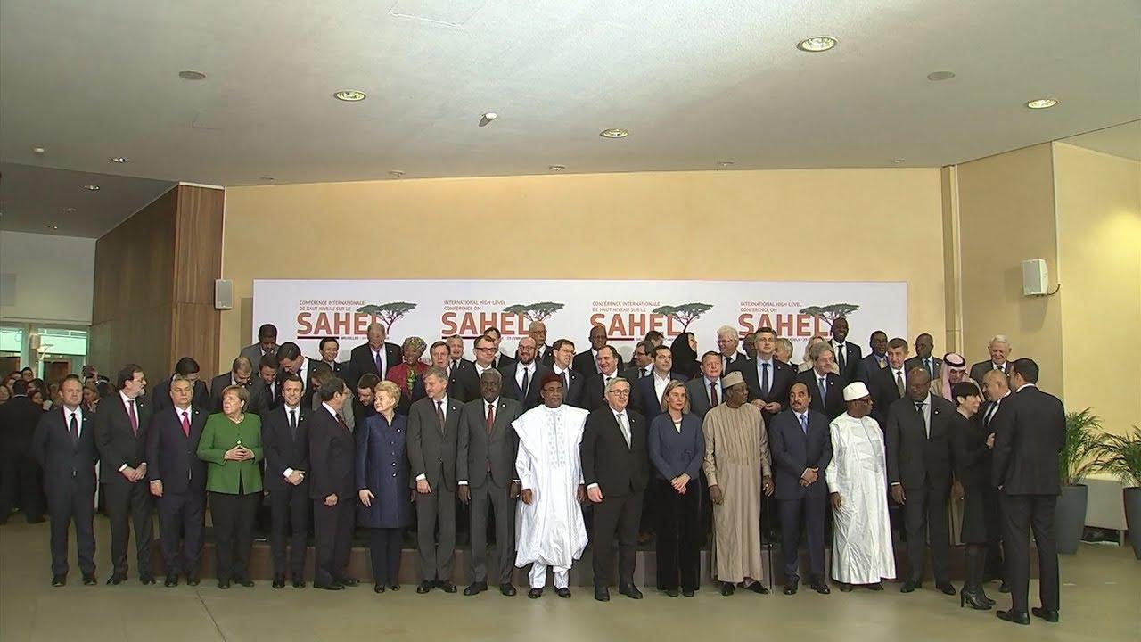 Διεθνής Διάσκεψη Υψηλού Επιπέδου για το Σαχέλ – Οικογενειακή Φωτογραφία