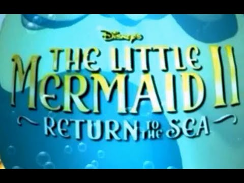 Disney's The Little Mermaid 2: Return to the Sea Activity Centre PC Gameplay