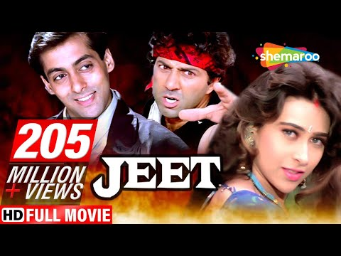 Video Jeet  {HD} - Salman Khan - Sunny Deol - Karishma Kapoor - Superhit Hindi Movie -(With Eng Subtitles) download in MP3, 3GP, MP4, WEBM, AVI, FLV January 2017