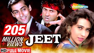 Jeet  {HD}   Salman Khan   Sunny Deol   Karishma Kapoor   Superhit Hindi Movie