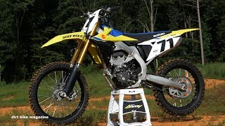 3. 2018 Suzuki RMZ450 - Dirt Bike Magazine