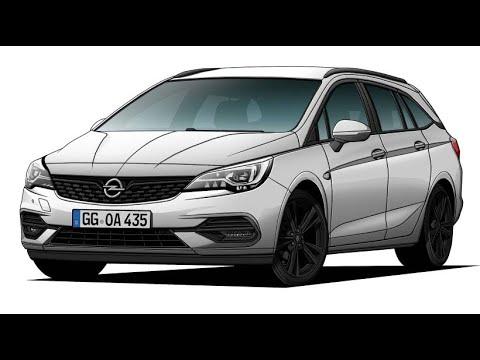 Opel Astra Sports Tourer: Ein kleiner Diesel und ein  ...