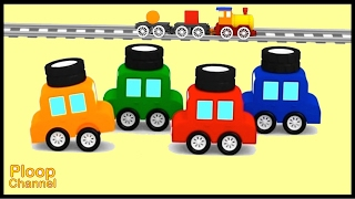 Video Cartoon Cars - LEARN SHAPES Compilation #5 Construction Cartoons for Children - Kids Cars Cartoons! MP3, 3GP, MP4, WEBM, AVI, FLV Juni 2018
