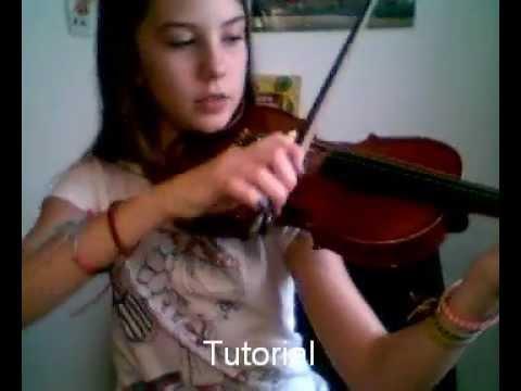 Tutorial para saber tocar el violín