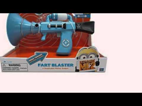 Video New YouTube of the Exclusive Banana Scented Fart Gun