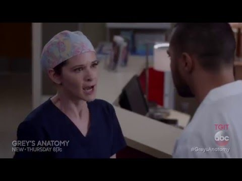 Jackson Finds Out April Is Pregnant Sneak Peek - Grey's Anatomy