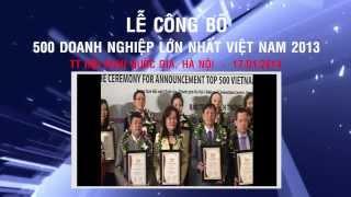 LỄ CÔNG BỐ BXH VNR500 2013