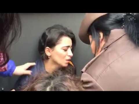 Tikintiyə etiraz edən vətəndaş intihara cəhd edib (видео)