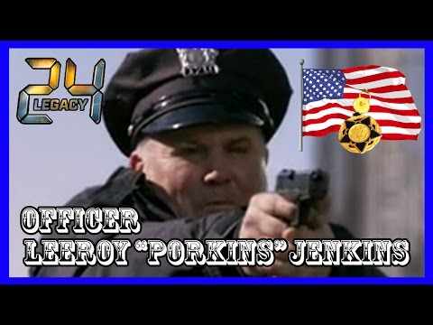 Officer Leeroy Jenkins 24 Legacy Bridge Scene