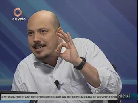 """Carlos Aquino (PCV) en el programa """"Vladimir a la 1"""" (Primera parte)"""