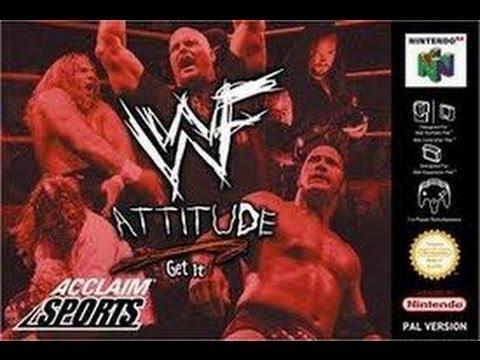 WWF Attitude Nintendo 64