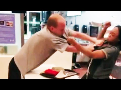 Man Grabs McDonald's Worker for Having to Ask for a Straw