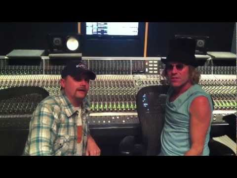 Big and RICH RAWKIN in the studio!