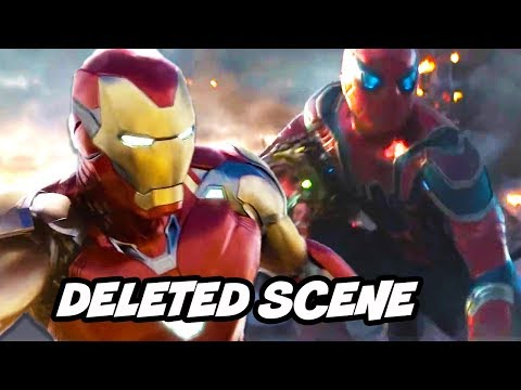 Avengers Endgame Deleted Scenes - Iron Man Final Battle Alternate Ending Breakdown