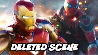 Avengers Endgame Deleted Scenes - Iron Man Final Battle Alternate Ending Breakdown