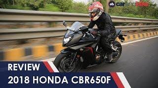 9. 2018 Honda CBR650F Review | NDTV carandbike