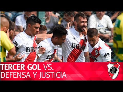 Gol de Lucas Pratto vs. Defensa y Justicia