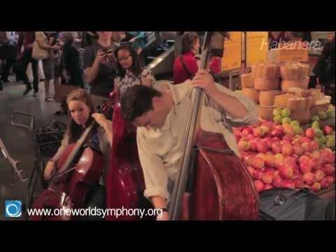 Video Flash Mob: Habanera from Carmen.mov download in MP3, 3GP, MP4, WEBM, AVI, FLV January 2017