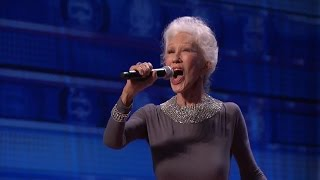 America's Got Talent 2015 S10E02 Shirley Claire The Octogenarian Songstress