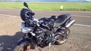 8. 2012 Triumph Street Triple R Review/ Walk Around