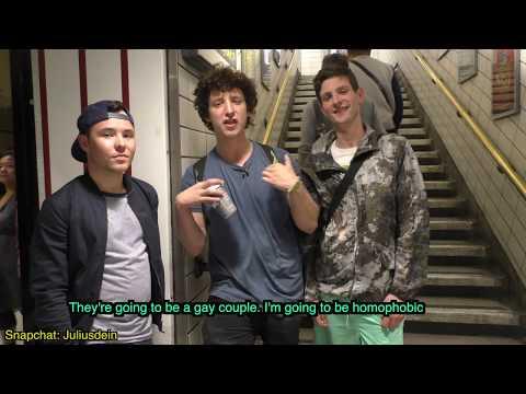 Homophobia social experiment (видео)